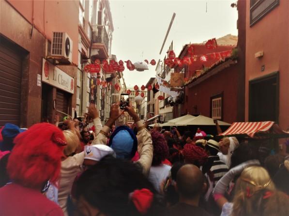 Carnaval Santa Cruz de Tenerife Carnival Calle Clavel
