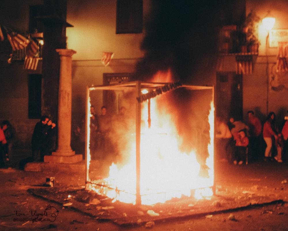 Las Fallas Flames