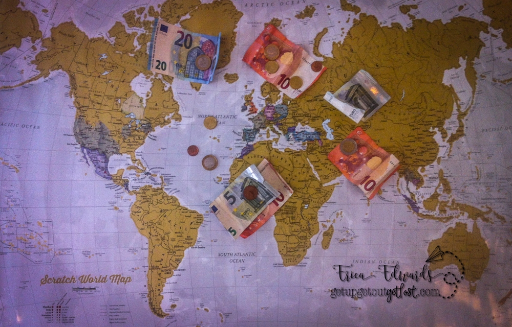 saving money map