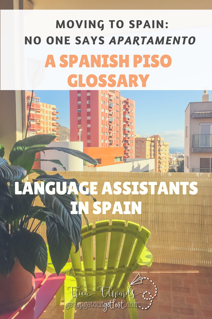 A SPANISH PISO GLOSSARY pinterest