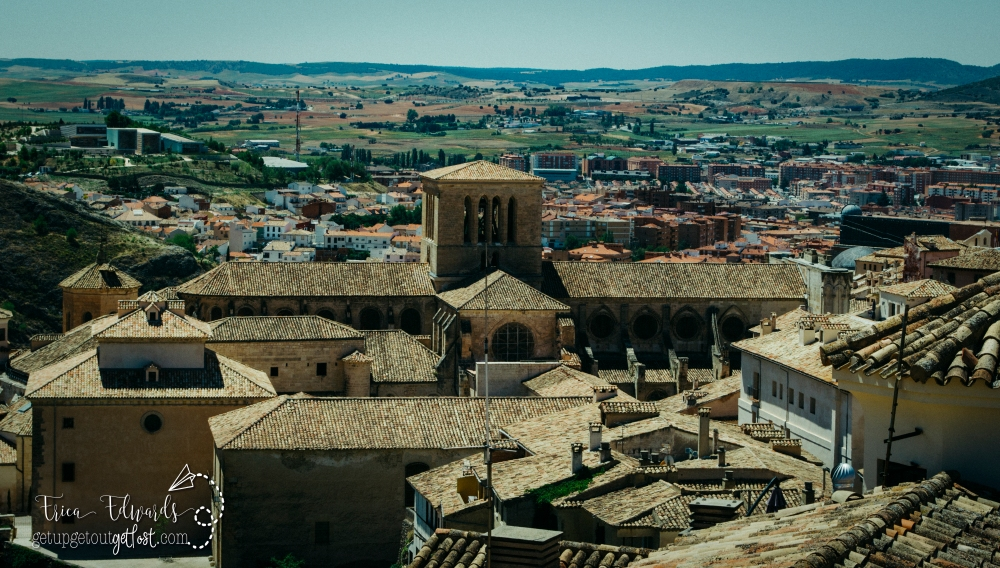 View from St. Peters Bell Tower Cuenca