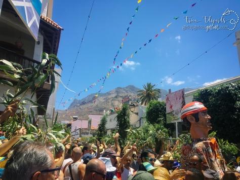 La Fiesta de La Rama. Agaete, Gran Canaria, Spain. 8-2017