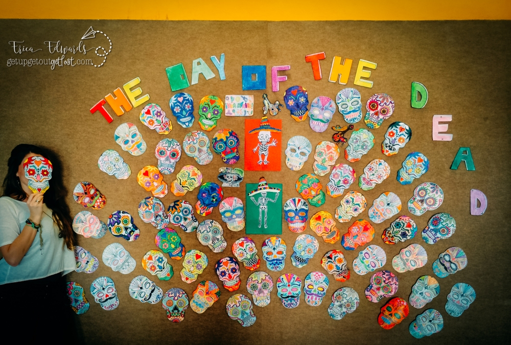 Day of the Dead Calaveras La Salle San Ildefonso 10-2014 WM