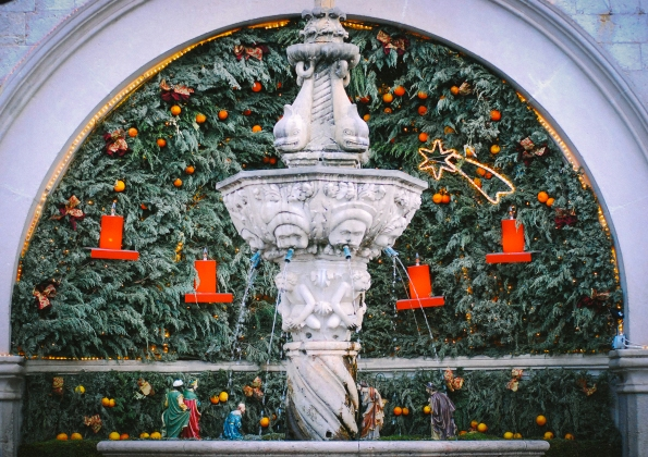 Nativity Scene. Belen
