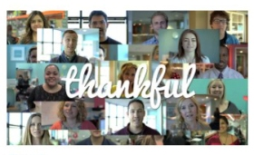 thankful video