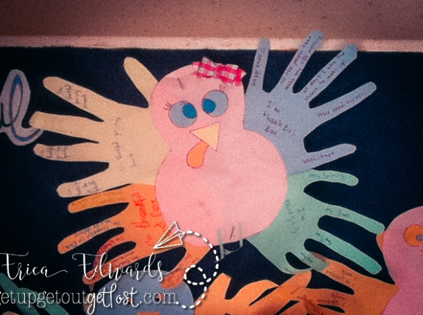 Thanksgiving Hand Print Turkey Groups