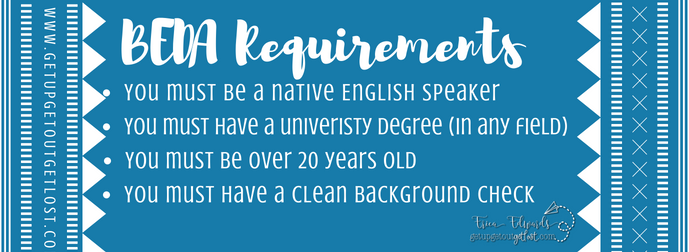 BEDA Language Assistant Requirements