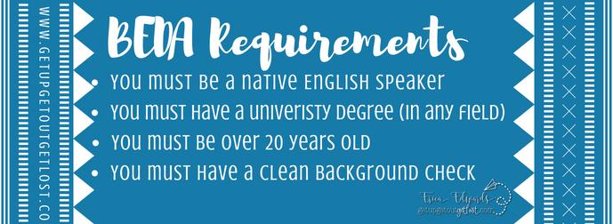 BEDA Language Assistant Requirements