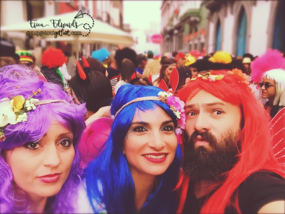 Carnaval del Día. Vegueta, Las Palmas. fairies lina gab 2-2017 WM