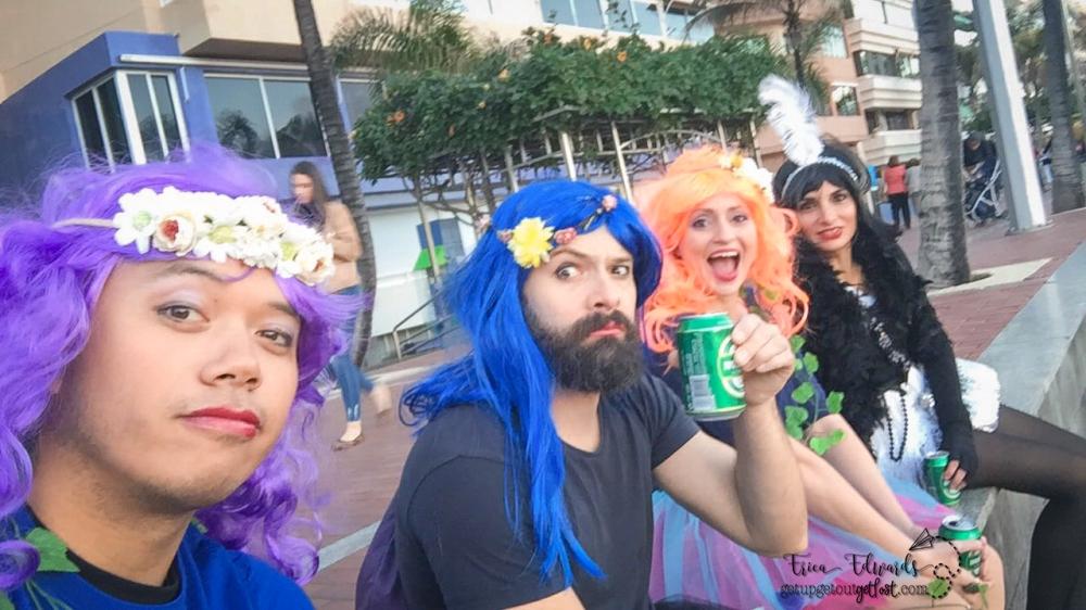 Carnaval Las Palmas de Gran Canaria francis me lina gabi faries 2-2017 WM