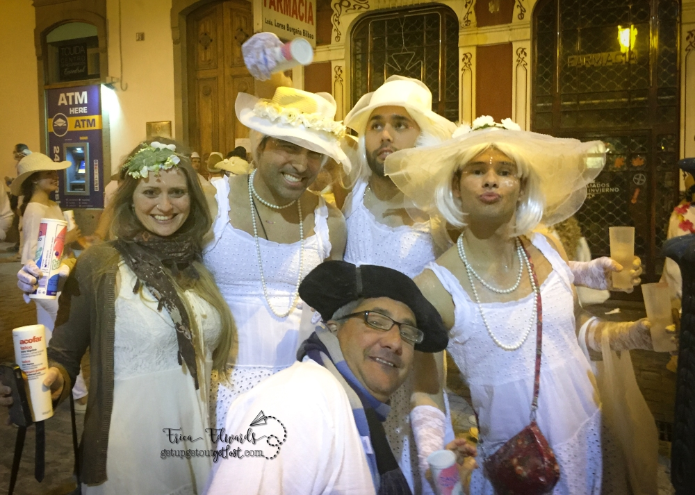 Carnaval Las Palmas de Gran Canaria Los Indianos francis 2-2017 CGP-FSCG bright whites WM