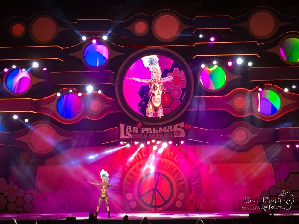 Carnaval Las Palmas de Gran Canaria Maquialleje Corporal. Body Art.