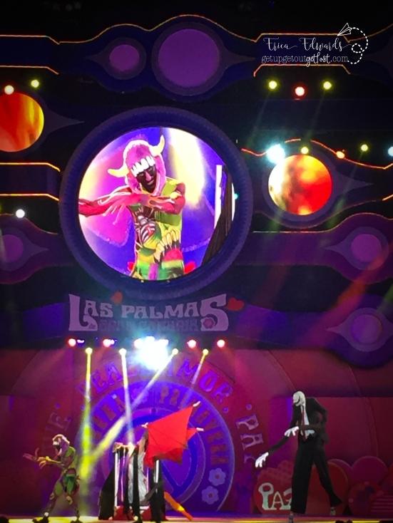 Carnaval Las Palmas de Gran Canaria Maquialleje Corporal. Body Art. 2-2017 (98) CGP-FSCG color pop WM