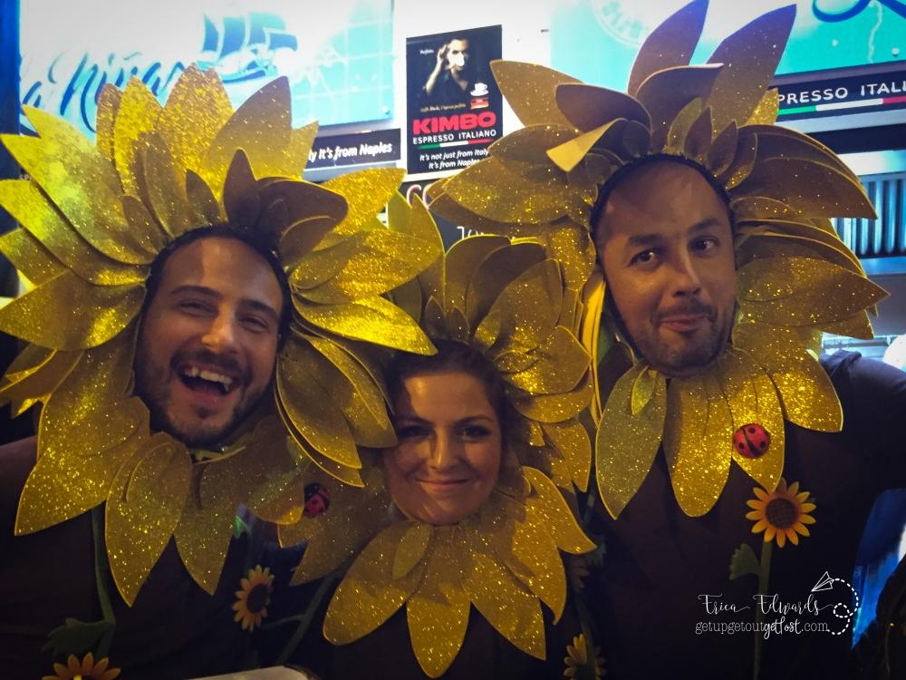 Carnaval Las Palmas Sunflowers