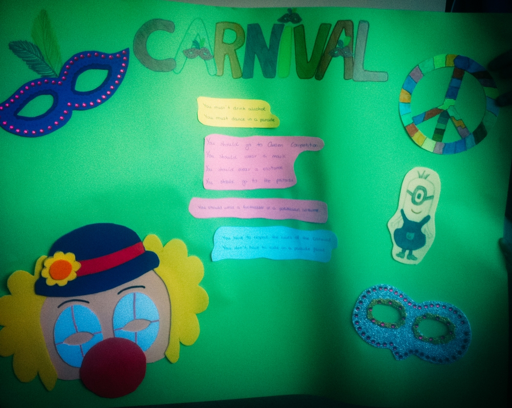 Carnival Dos and Dont's Poster