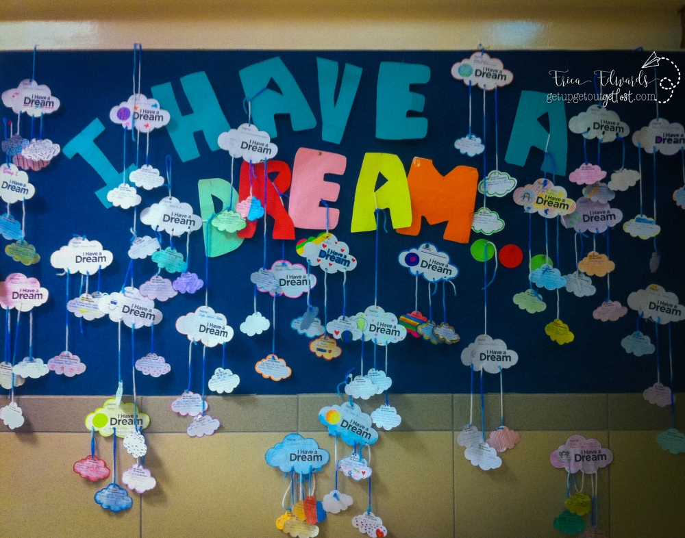 Martin Luther King, Jr. Day I Have a Dream Mobiles