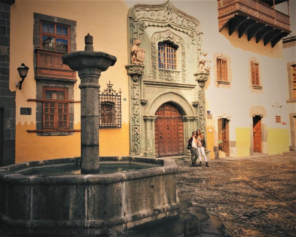 Casa de Colón Museum in Vegueta, Las Palmas de Gran Canaria