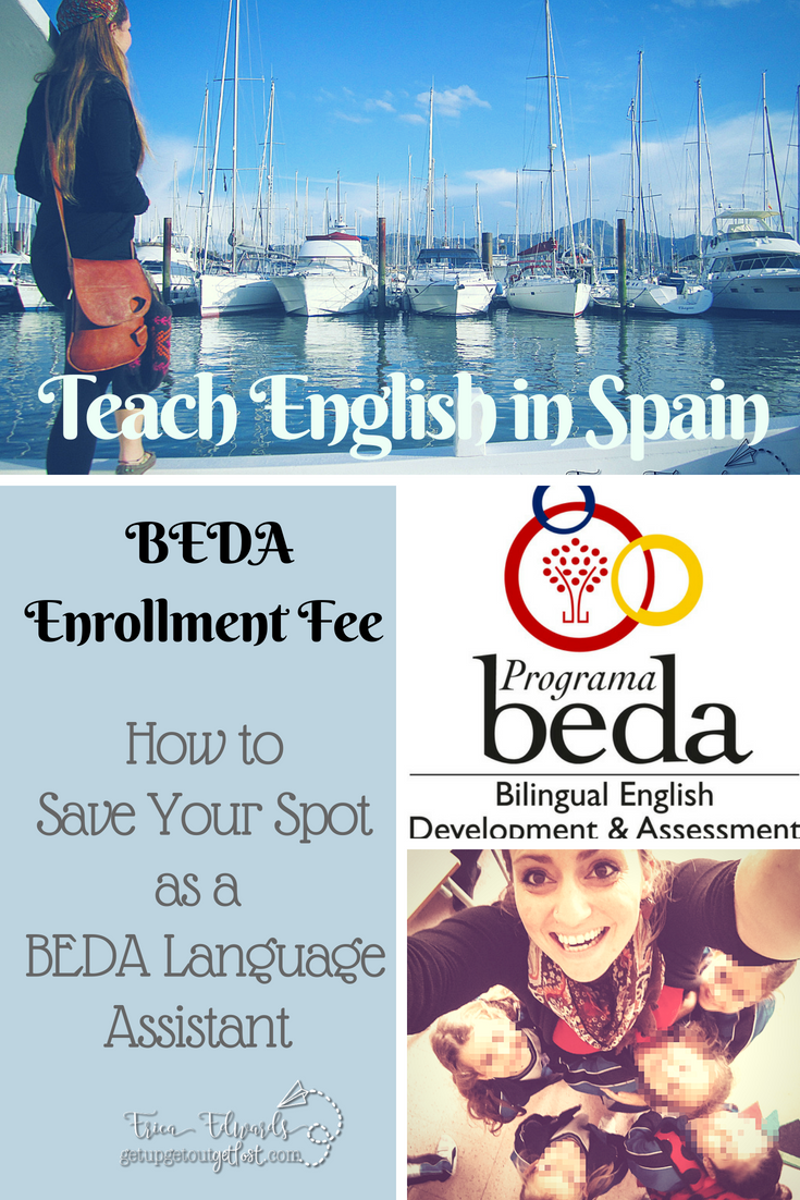 BEDA Enrollment Fee_Confirming Your Placement as aBEDA Language Assistant Placement