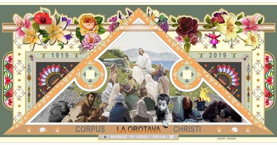 Las Alformbras de La Orotava Corpus Christi Tenerife 2019