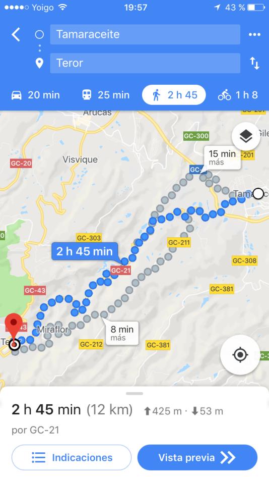 El Pino Pilgrimage Tamaraceite to Teror