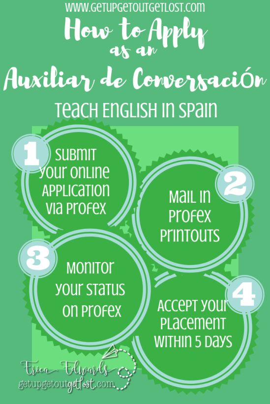 How to apply as an auxiliar de conversacion