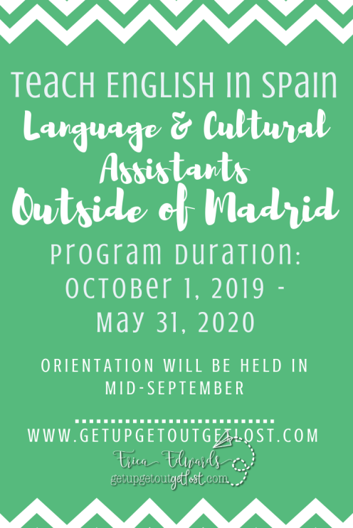Language Assistant Dates Outside of Madrid