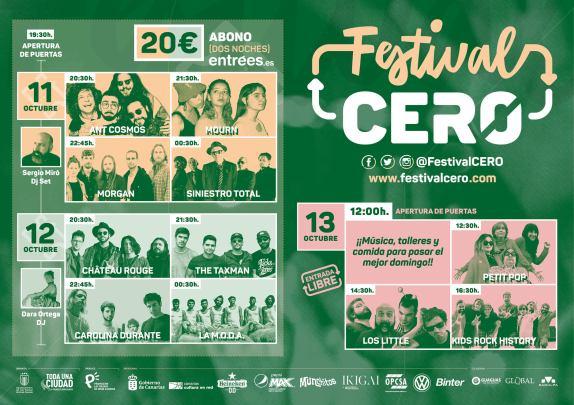 Festival Cero Las Palmas de Gran Canaria 2019