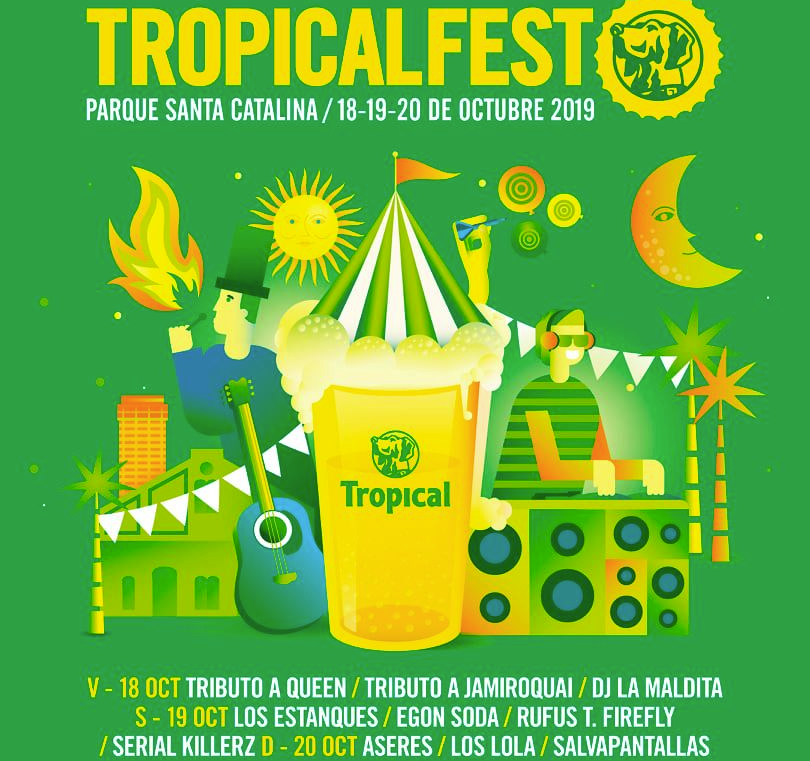 Tropical Fest Las Palmas de Gran Canaria October 2019