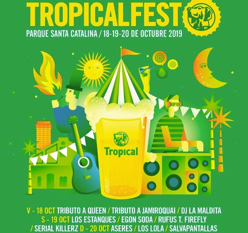 Tropical Fest Las Palmas de Gran Canaria October 2019