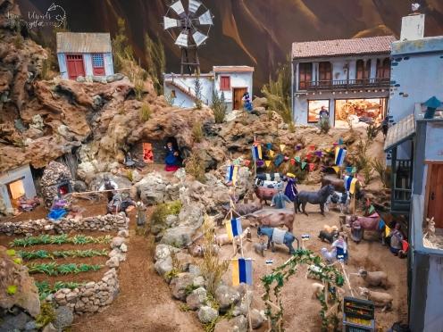 Nativity Scene in Arucas´ Parque Municipal Gran Canaria belen