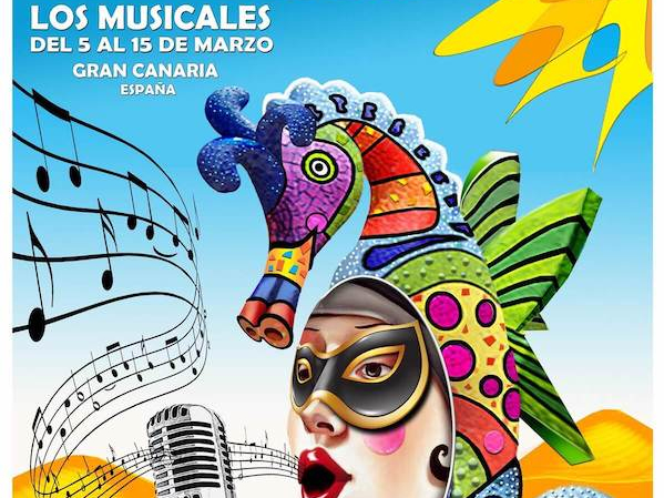 Maspalomas Carnival 2020 Poster Musicals